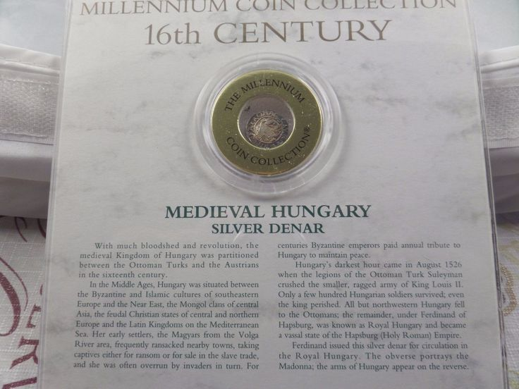 Millennium Collection 16th Century Medieval Hungary Denar silver coin  Price : $100.00  Ends on : 7 days Order Now