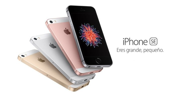 Nuevo iPhone SE de 4 pulgadas, con chip A9, cámara de 12 Mpx y Live Photos