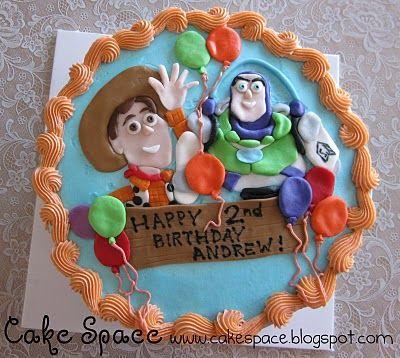 Wendy's Cake Space: Toy Story Birthday CakeKids Birthday, Josh Birthday, Toy Story Birthday, Toys Stories Birthday, Birthday Cakes