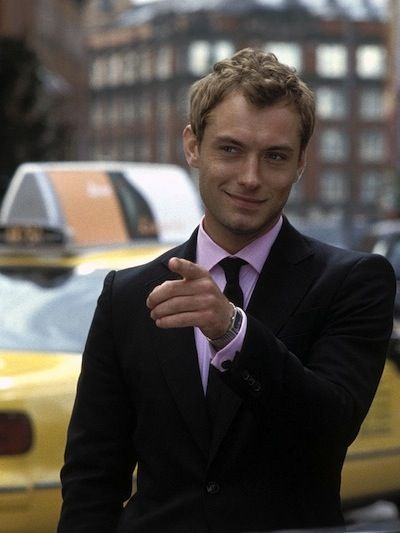 got to love a man in a suit..Jude Law (Alfie)