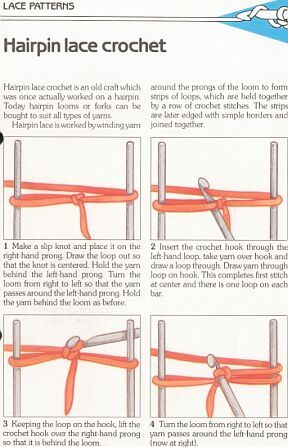 Beginner's Guide to Hairpin Lace