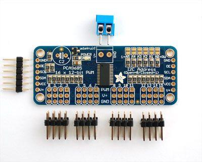 Hooking it Up | Adafruit 16-Channel Servo Driver with Arduino | Adafruit Learning System
