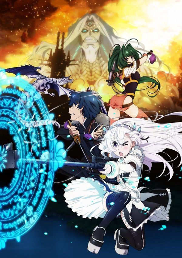 Chaika: The Coffin Princess (S1) Hitsugi no Chaika, just watch the first season, the second season is disappointing.