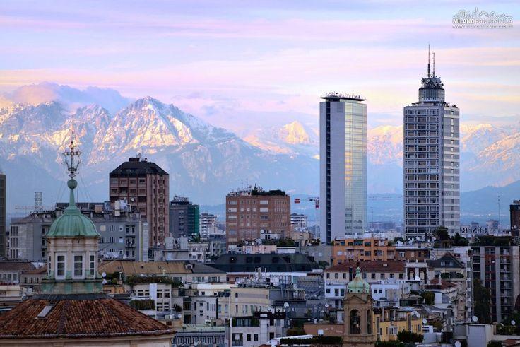 Milano Panoramica progetto di FrancescoLangiulli.