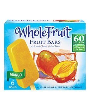 Made with pure fruit (and zero high-fructose corn syrup), these five frozen fruit bars have iced the competition.