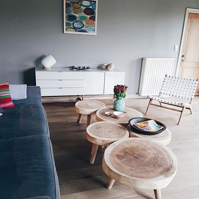 Leuke foto ontvangen met de nieuwe ronde robuuste salontafeltjes en de ushuaia loungestoel, awesome! Bij interesse mail naar ibizaoutdoor@gmail.com ook voor een afspraak in de loods. Sweet dreams! #tafel #salontafel #inrichting #decoratie #woonkamer #loungestoel