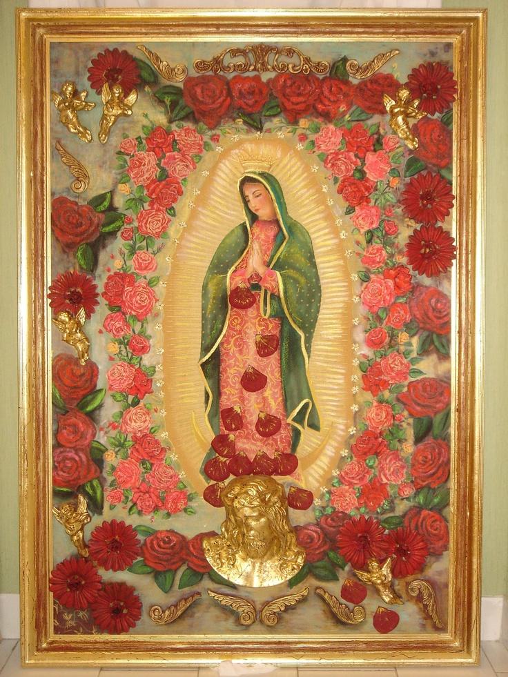Virgen de Guadalupe - Collage