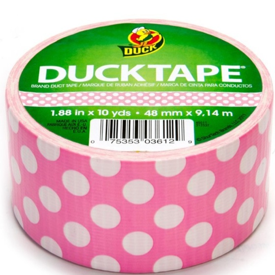 Polka dot tape!  I want rolls in every color and pattern.