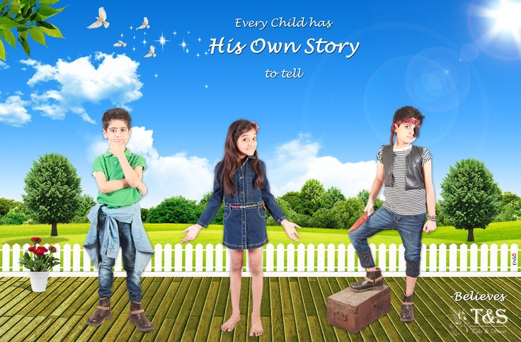 Every #child has his own story to tell - #Believes http://www.talesandstories.com/ #kids #online #shopping