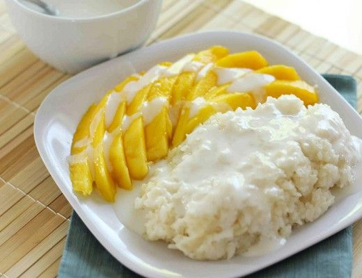 Mango Sticky Rice, the ultimate thai dessert
