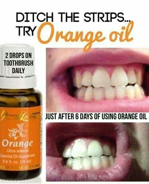 Yup!! I use orange oil for brushing often and have been told I have super white teeth multiple times. It works. I was going to have them whitened at the dentist until a softball mom told me the other day at a game, that I have the whitest teeth she's seen! Made me feel better about using the orange oil. :-)