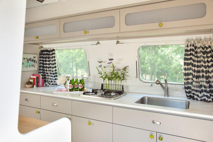 Airstream Interior | The Silver Bungalow