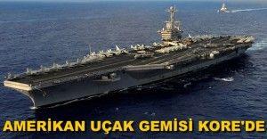 Amerikan uçak gemisi Güney Kore'ye demirledi  http://www.sualtigazetesi.com/?p=83610