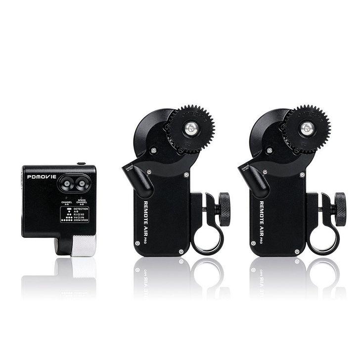 PDMOVIE PDL-FZ Remote Live II Fingerwheel Controller Follow Focus Kit (Dual Channel)