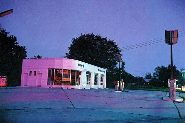 WILLIAM EGGLESTON - Troubled Waters, Portfolio of Dye-transfer.