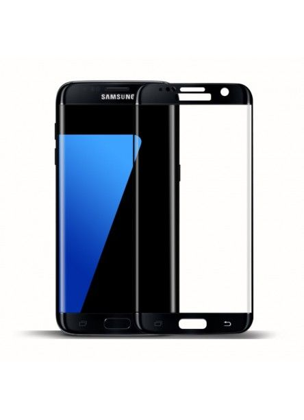 Protection d'écran Samsung Galaxy S7 Edge en verre trempé incurvée
