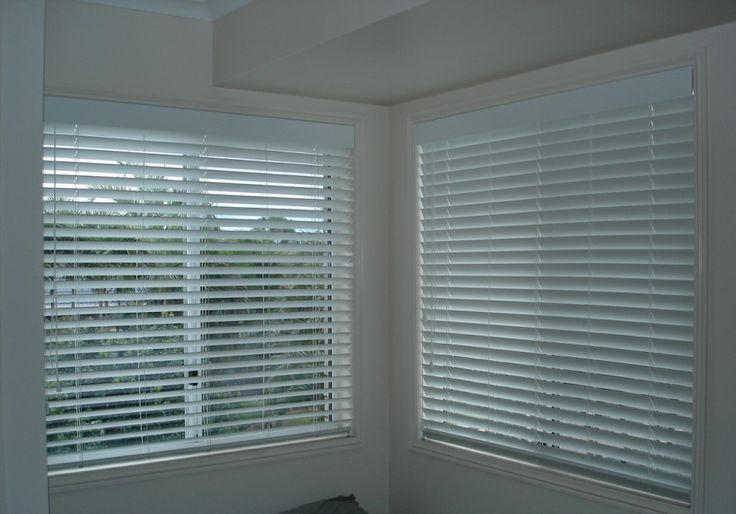 White eco venetians - keep it light and fresh