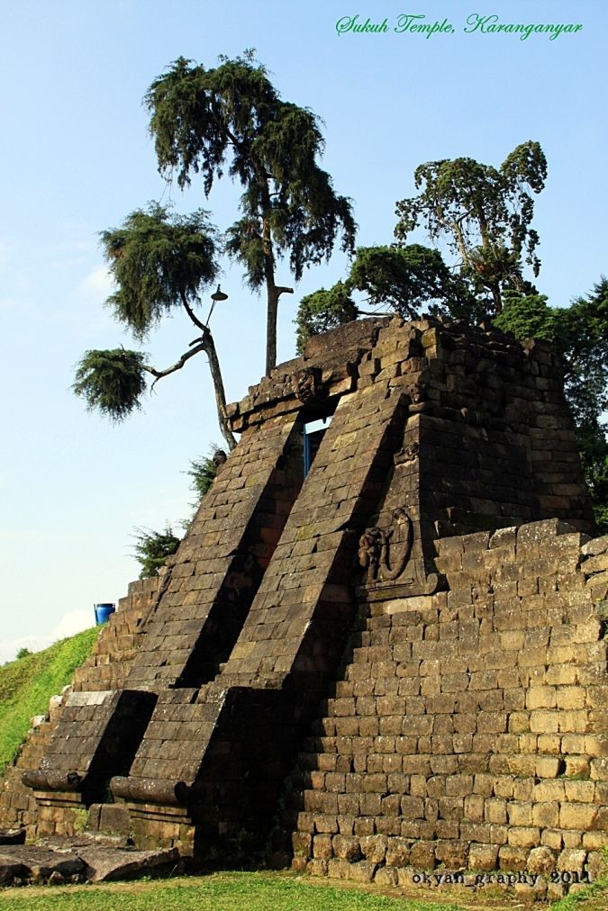 Sukuh Temple (Javanese Pyramid) - East Java, Indonesia