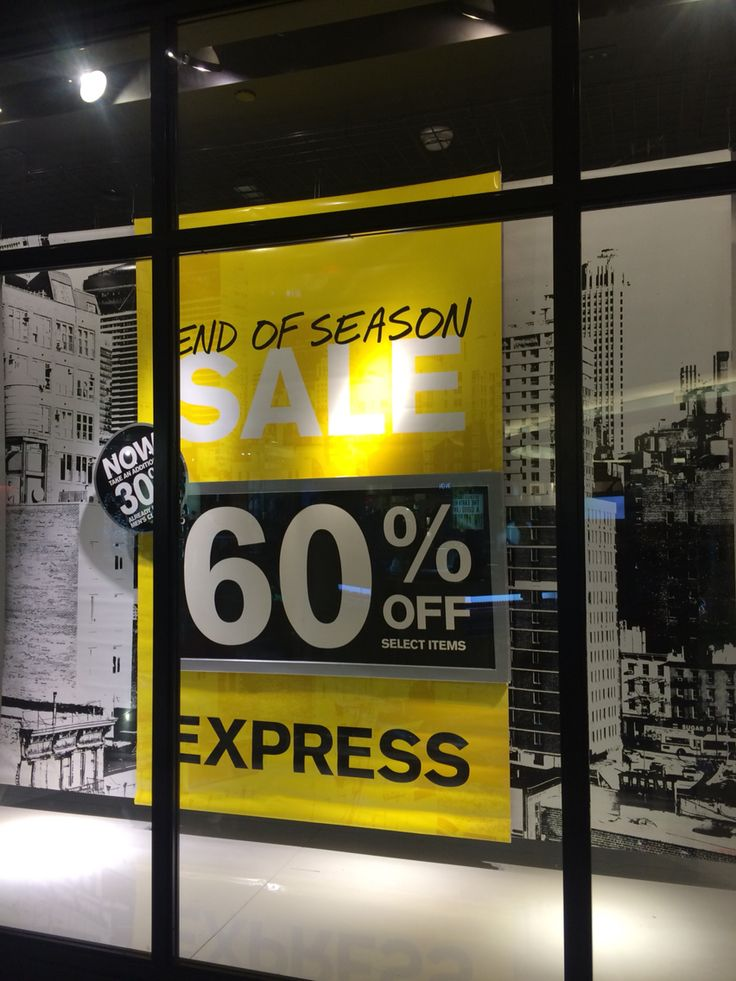 EXPRESS,(End Of Season Sale), San Francisco ,CA,USA,uploaded by Ton van der Veer