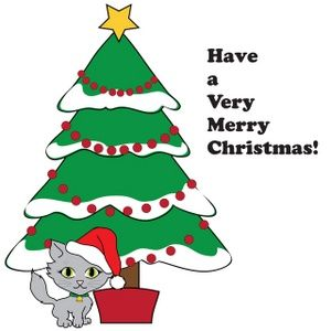 Merry Christmas Graphics | Kitty Clip Art Images Kitty Stock Photos & Clipart Kitty Pictures