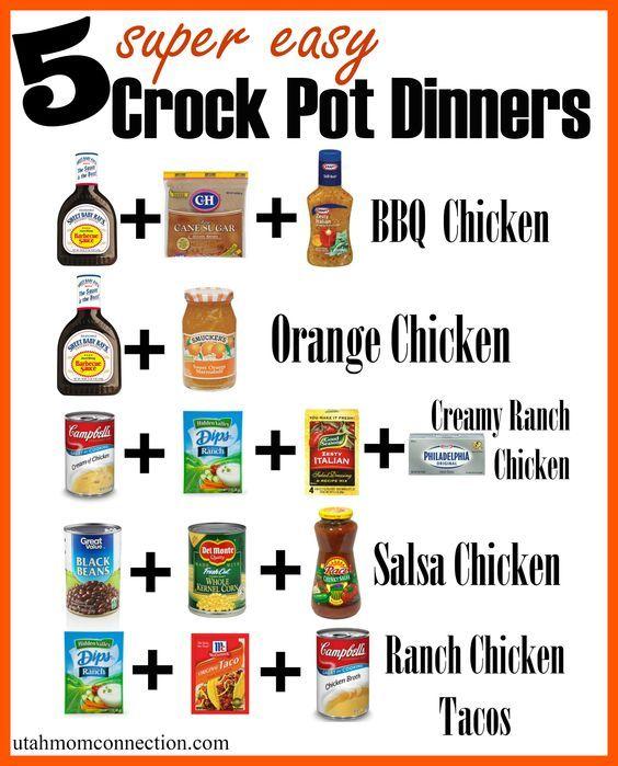 Easy Crock Pot Dinners!: