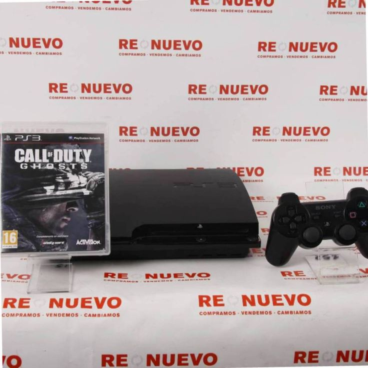 Consola #PS3 #Slim de #160Gb (Fw 4.6) + Mando + #C.O.D #Ghosts E267177 de segunda mano | Tienda de Segunda Mano en Barcelona Re-Nuevo #segundamano