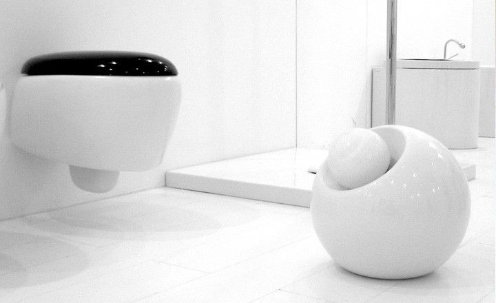 Ceramic lamp Bool on the floor