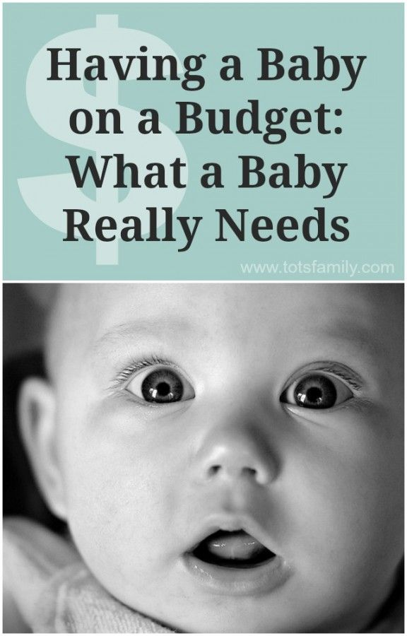 Having a Baby on a Budget: What a Baby Really Needs - Thinking Outside The Sandbox Family
