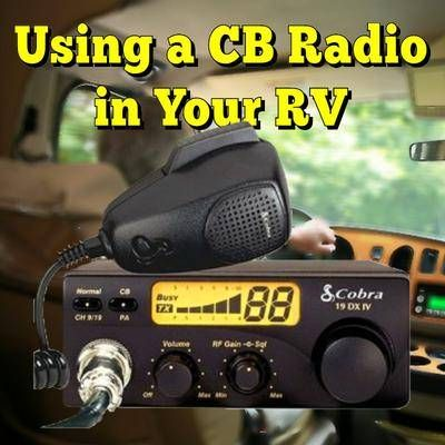 Using a CB Radio in Your RV