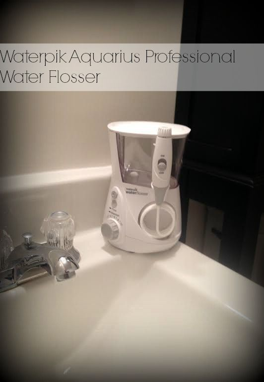 fresh clean with waterpik aquarius water flosser newageinwaterflossing ad all in a days. Black Bedroom Furniture Sets. Home Design Ideas