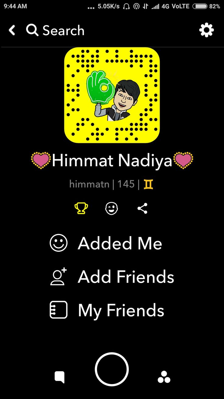 This year my Snapchat account best