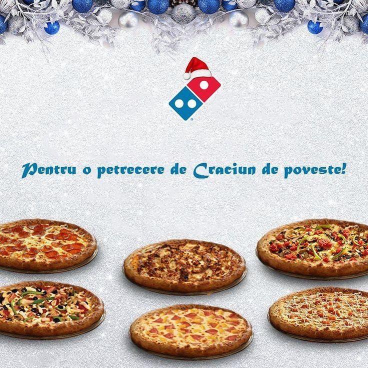 Cum facem o petrecere de Craciun la birou de poveste? Toti colegii isi comanda pizza la care poftesc de pe www.dominos-pizza.ro iar Domino's face cinste cu o reducere de 35%!