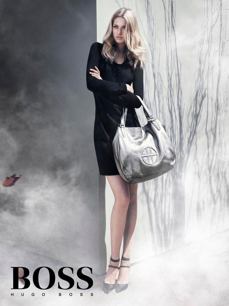 Toni Garrn Looks Sharp in Hugo Boss Blacks Winter 2012 Campaign by Hunter & Gatti