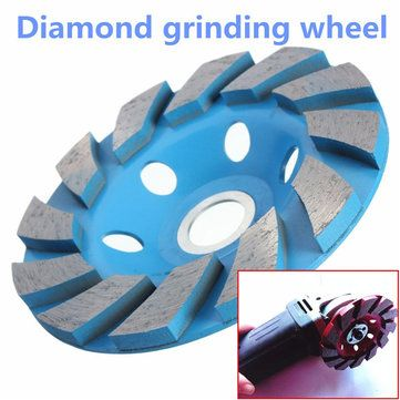 Only US$5.98, buy best 4 Inch 6 Hole Diamond Segment Grinding Cup Wheel Disc Grinder Granite Stone sale online store at wholesale price.US/EU warehouse.