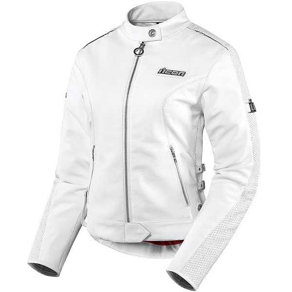 Icon Women's Hella Leather Jacket