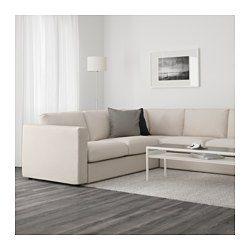 IKEA - VIMLE, Hoekbank, 5-zits, Orrsta zwartblauw, , Van deze lekkere, zachte bank kan je lang plezier hebben. De zitkussens zijn gevuld met hoogelastisch schuim, dat het lichaam comfortabel ondersteunt en zijn vorm snel weer terugkrijgt als je opstaat.De bekleding is afneembaar en machinewasbaar, en dus eenvoudig schoon te houden.Gratis 10 jaar garantie. Raadpleeg onze folder voor de garantievoorwaarden.