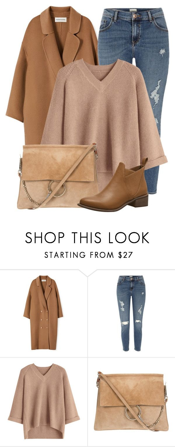 """""""Brown Choice"""" by monmondefou ❤ liked on Polyvore featuring River Island and brown"""