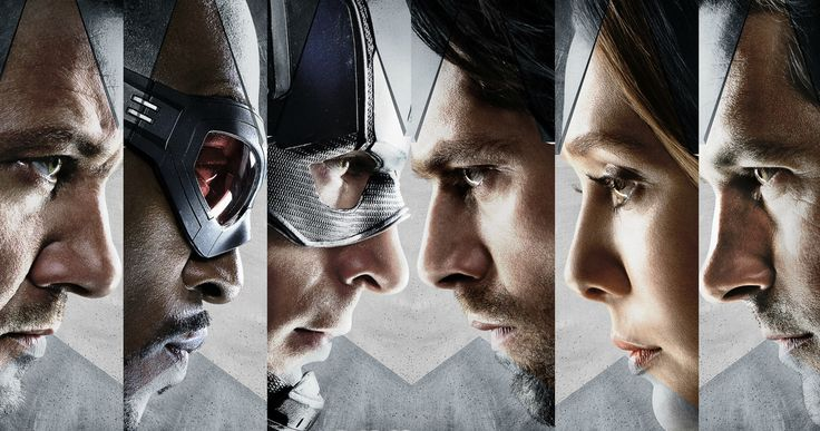 'Civil War' Character Posters Introduce Team Captain America -- New 'Civil War' character posters have arrived for Captain America, The Winter Soldier, Falcon, Hawkeye, Scarlet Witch and Ant-Man. -- http://movieweb.com/captain-america-civil-war-character-posters/