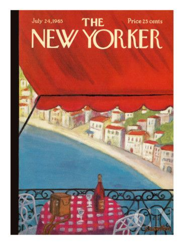 The New Yorker Cover - July 24, 1965 Poster Print by Beatrice Szanton at the Condé Nast Collection