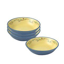 Individual Salad Bowls, Set of 4