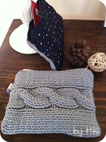 pochette tricot 4
