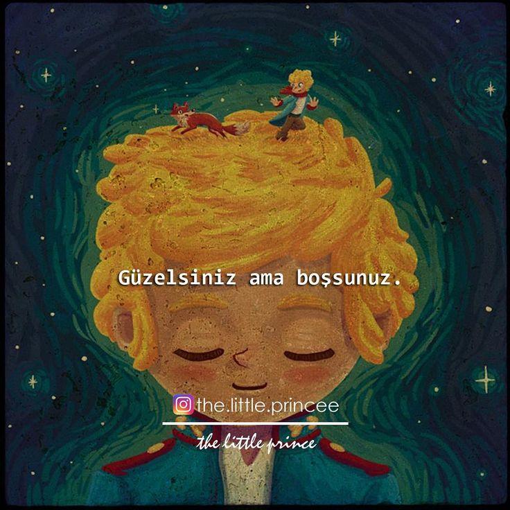 Güzelsiniz ama boşsunuz.   - Antoine De Saint-Exupéry / Küçük Prens   (Kaynak: Instagram - the.little.princee)   #sözler #anlamlısözler #güzelsözler #manalısözler #özlüsözler #alıntı #alıntılar #alıntıdır #alıntısözler #kitap #kitapsözleri #kitapalıntıları #edebiyat #küçükprens #thelittleprince #lepetitprince