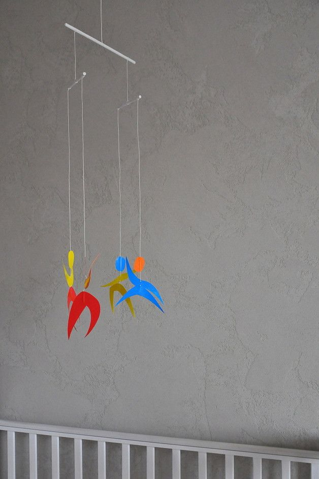 Karuzela Mobile Montessori 5 | Tancerki - misticODDMENTS - Karuzele dla niemowląt