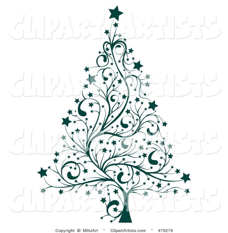 Featured Clipart By Milsiart Artist 110 Christmas Tree Clipart Christmas Tree Drawing Whimsical Christmas Art