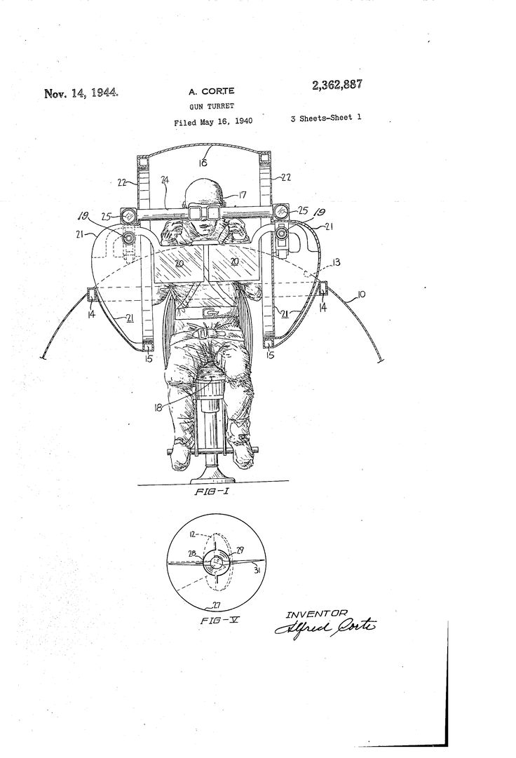 119 best Aviation & Space Exploration Patent Drawings
