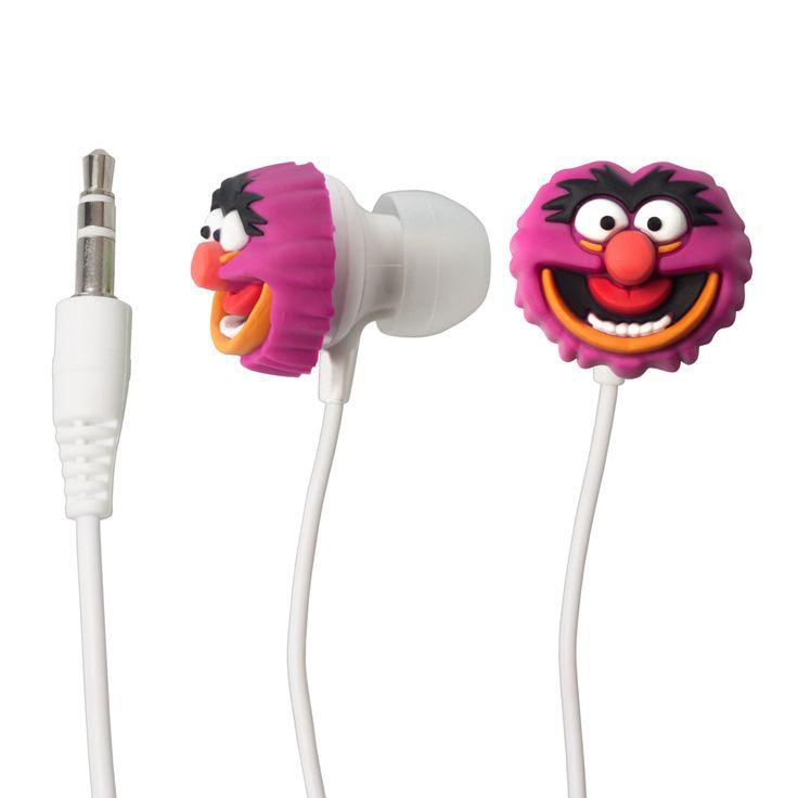Cooles Gadget - In-Ear-Kopfhörer Motiv von Tier/Animal aus der Muppet Show