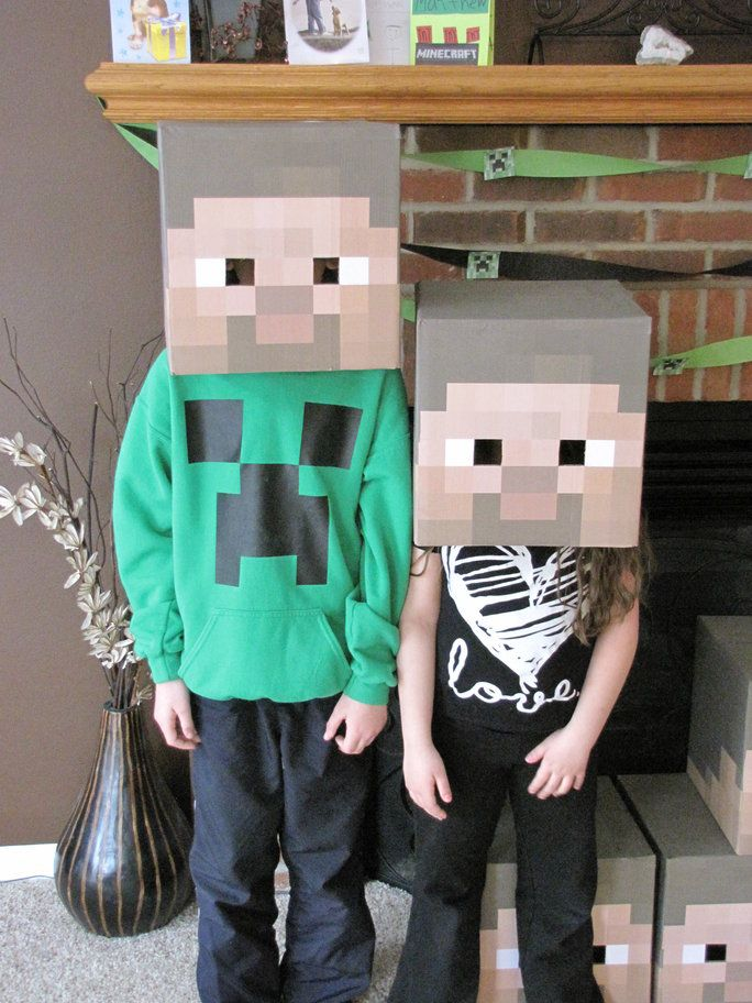 My 10 year old son Matthew, is crazy about the video game Minecraft. I would say he has a bit of an obsession! So, of course for his 10th birthday he wanted everything Minecraft. His special day started off like this when he woke up.  When he came down for breakfast the morning of …