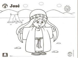 Escola Bíblica Infantil: JOSÉ - O FILHO PREDILETO