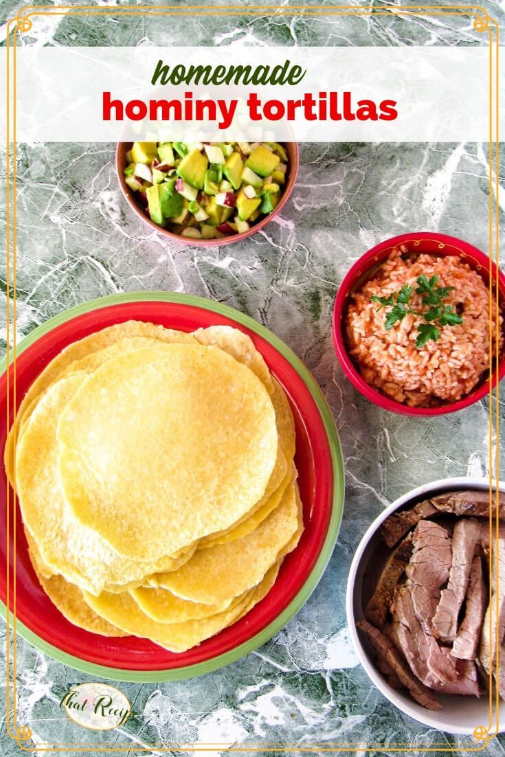 Homemade Hominy Tortillas Moist And Flavorful Corn Tortillas Recipe Recipes Corn Tortilla Recipes Hominy