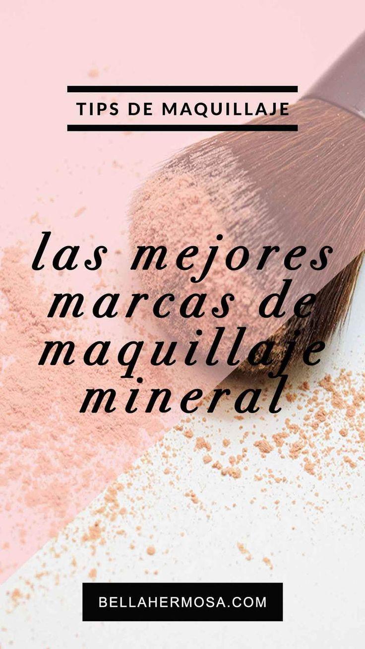 Seguro has escuchado hablar del maquillaje mineral, probablemente de algunos productos de Maybelline, L'Oreal, Max Factor, etc. Algunos de estos maquillaje minerales no son 100% minerales, existen marcas q...